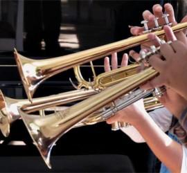 3 Trompetenkinder